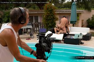 La Canon C3 avec des optiques Canon série cinéma.