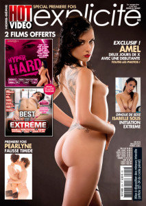 Maquette de la couverture de HOT Explicite n°23.